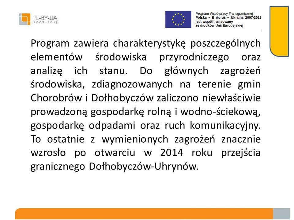 Graniczące ze sobą gminy Dołhobyczów i Chorobrów nawiązały współpracę na szczeblu lokalnym, aby przeciwdziałać degradacji środowiska naturalnego na ic