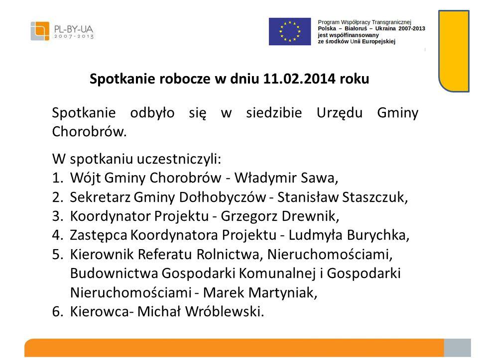 Ponadto delegacja z Ukrainy odwiedziła Gminny Zakład Usług Komunalnych w Dołhobyczowie, gdzie Kierownik GZUK zaprezentował stosowane do zbiórki odpadó