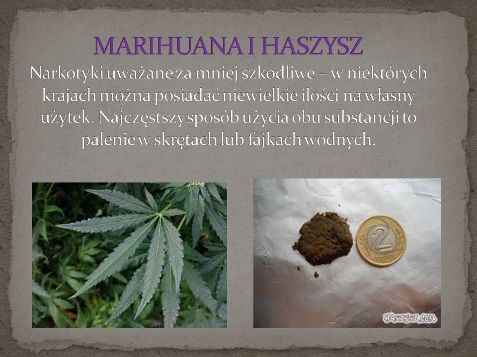 Zarówno marihuana jak i haszysz są względnie tanie – do 20 zł za gram, który wystarcza dla kilku debiutantów.