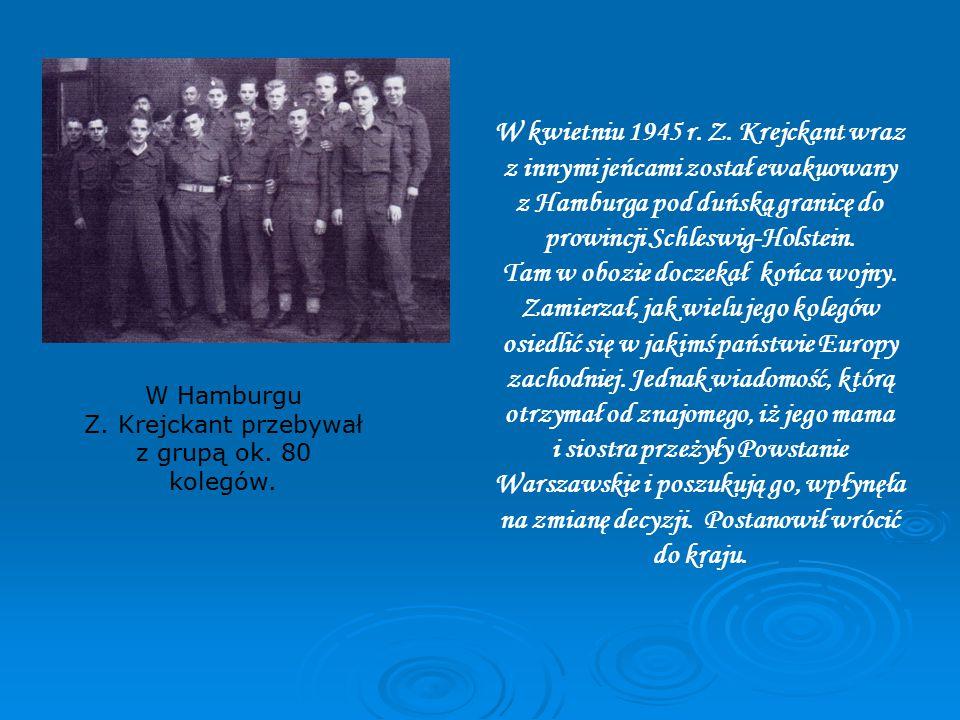 W kwietniu 1945 r. Z.