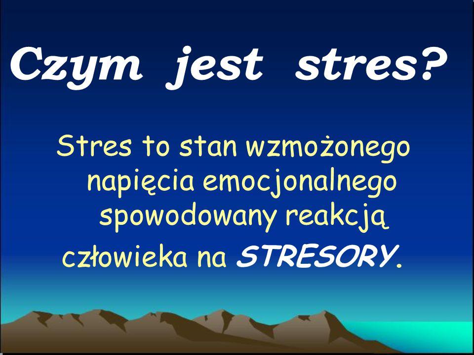 Stres – przyczyny, przejawy, skutki, profilaktyka.