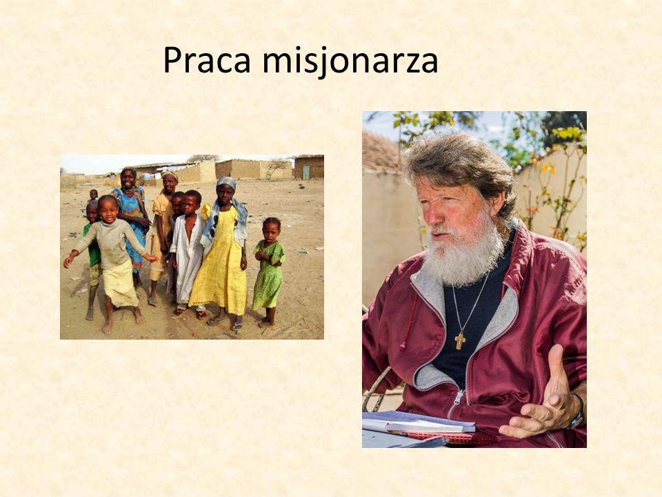 Praca misjonarza