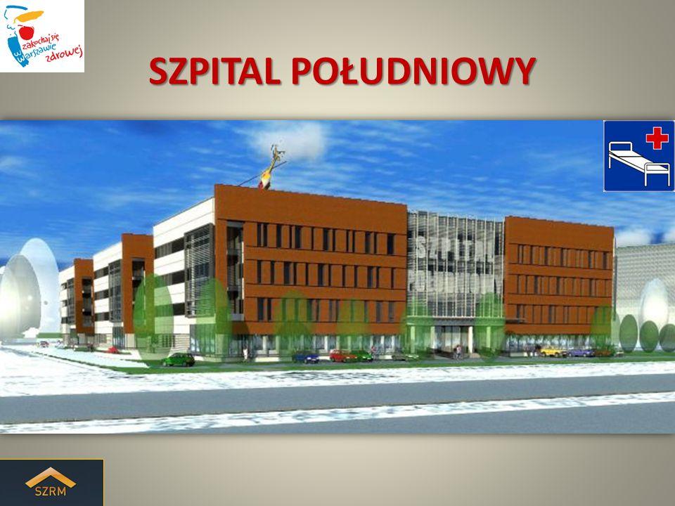 Szpital Południowy zlokalizowany jest w dzielnicy Ursynów w sąsiedztwie dwóch obiektów służby zdrowia: Centrum Onkologii oraz Instytutu Hematologii i Transfuzjologii u zbiegu ulic rtm.