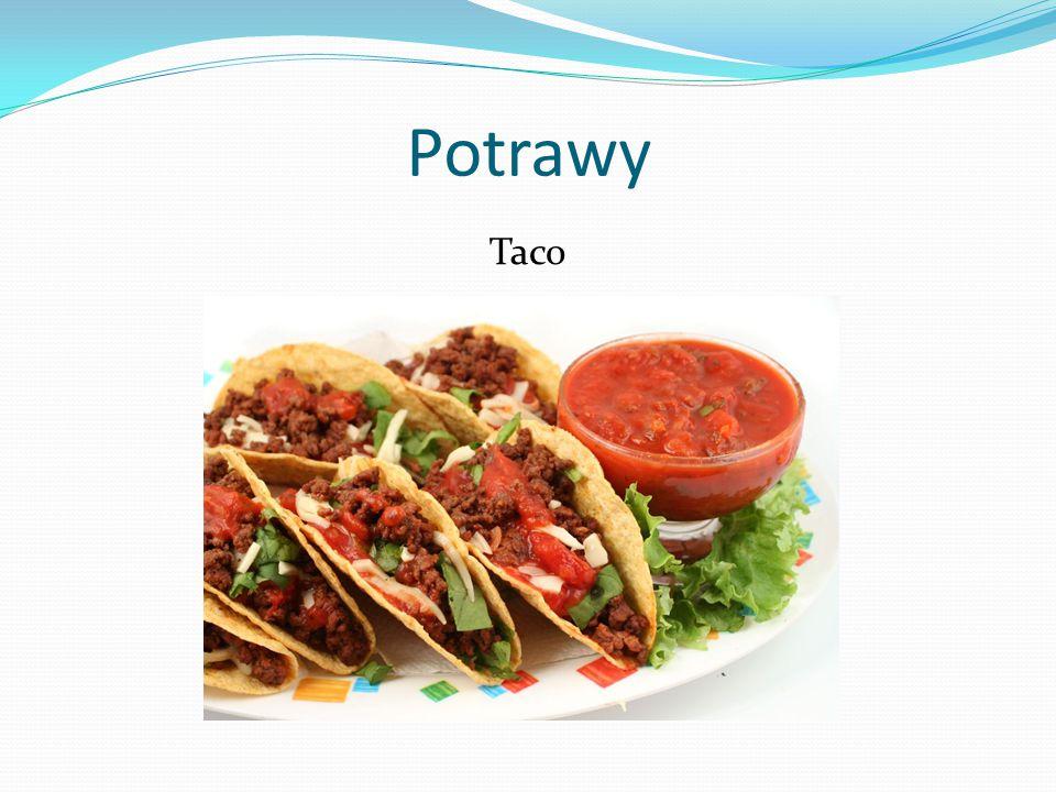 Potrawy Taco
