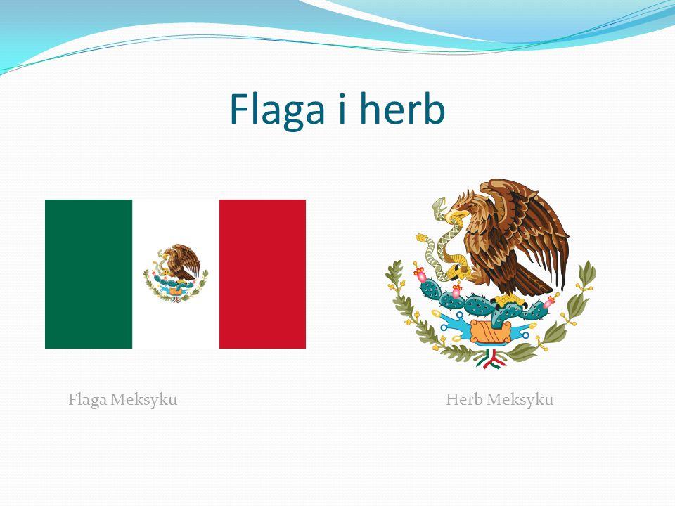 Flaga i herb Flaga Meksyku Herb Meksyku