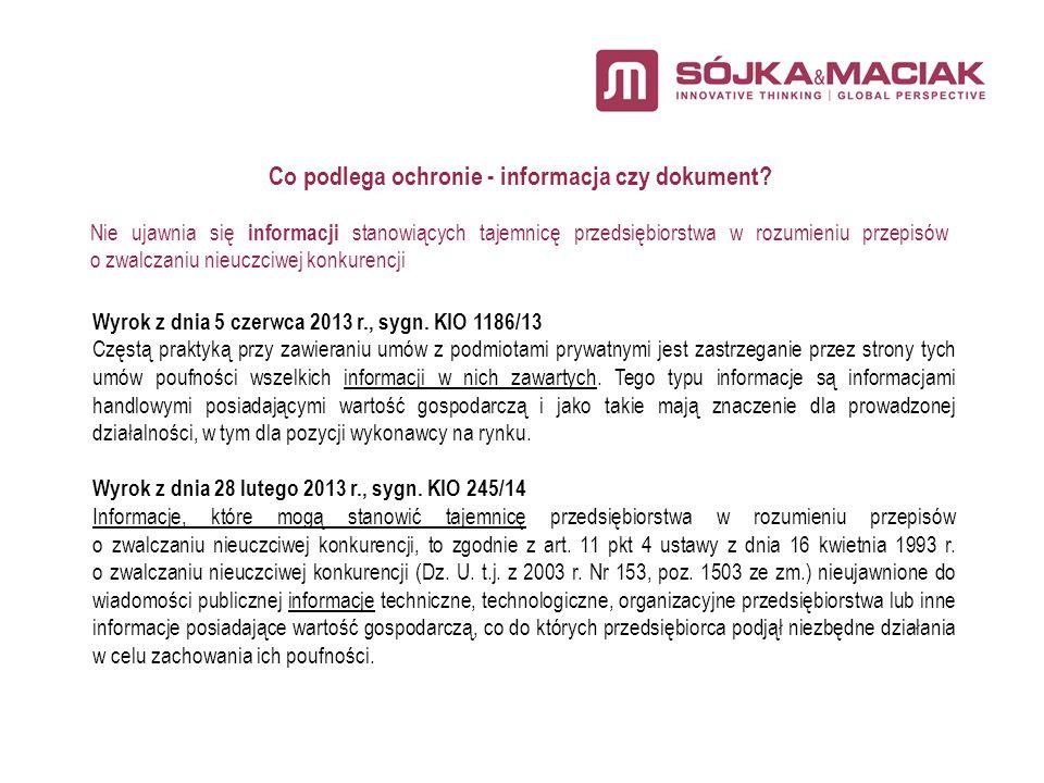 Wyrok KIO z dnia 14 kwietnia 2014, sygn.