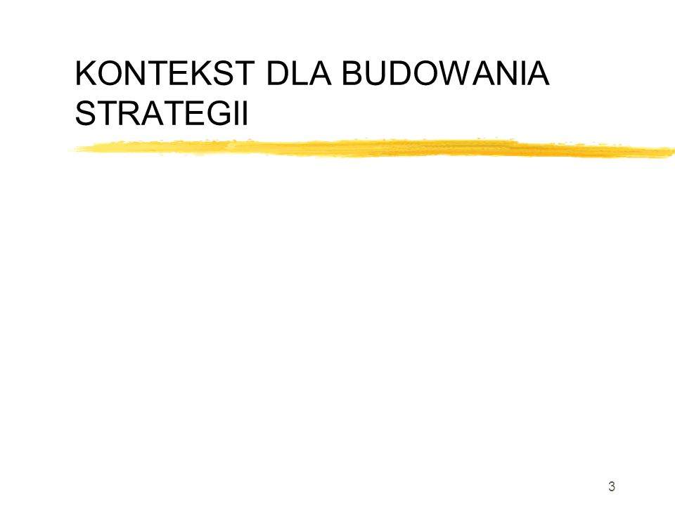 2 Strategia Innowacji Problem Jak osiągamy przewagę konkurencyjną (tymczasową) nad naszą konkurencją? Jak być innowacyjnym?