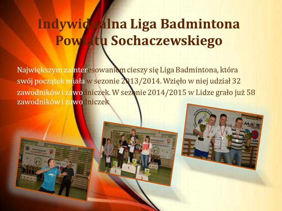 Największym zainteresowaniem cieszy się Liga Badmintona, która swój początek miała w sezonie 2013/2014.