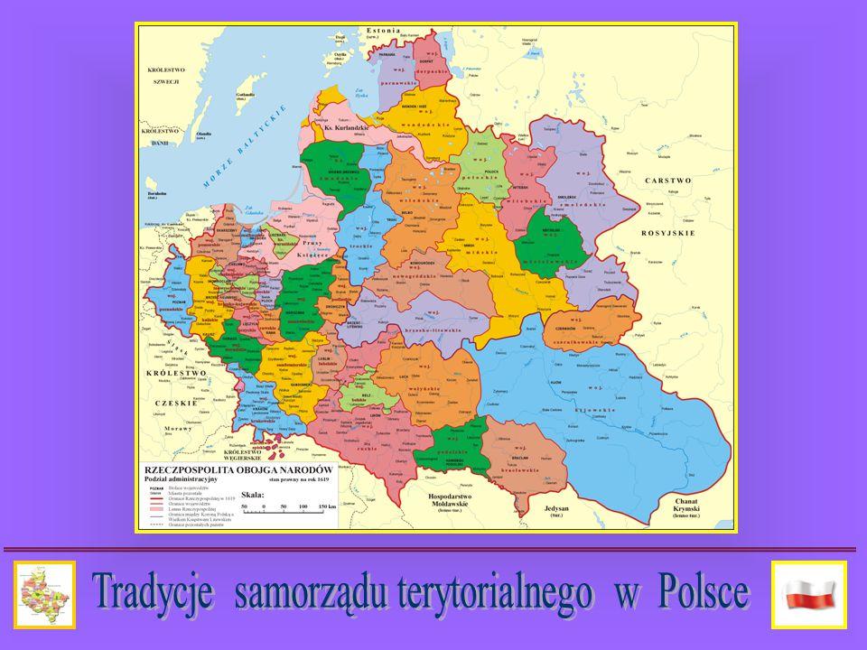 Samorząd po II wojnie światowej: Po wejściu w życie ustawy z dnia 23 marca 1950 roku o terenowych organach jednolitej władzy państwowej zostały wprowadzone w systemie administracji terytorialnej zasady zaczerpnięte z wzorca radzieckiego.