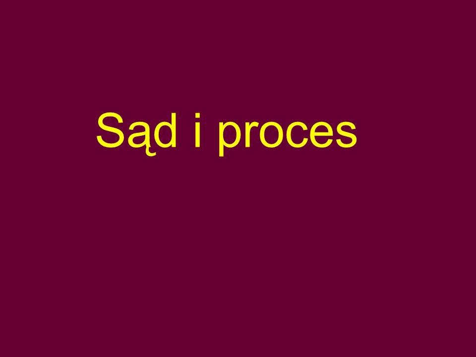 Sąd i proces