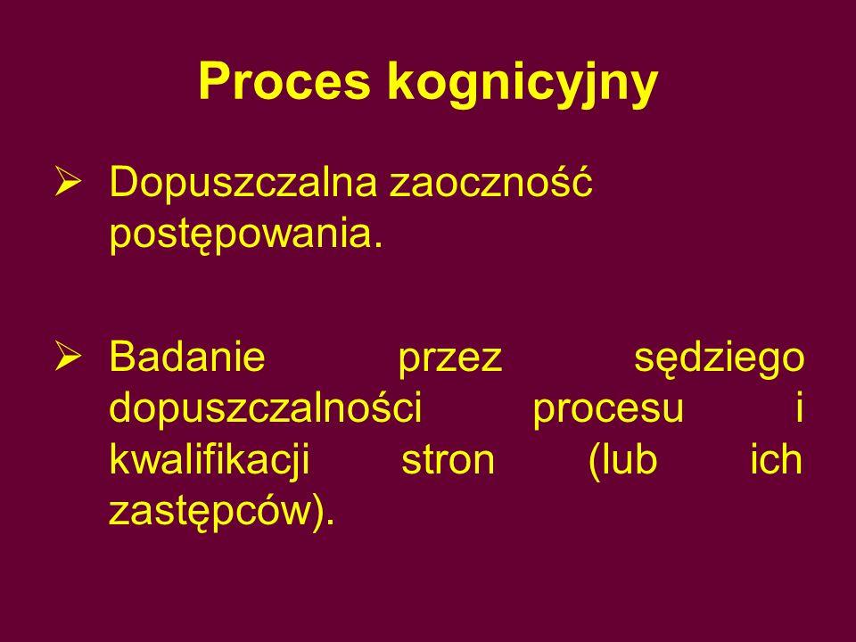 Postępowanie dowodowe Sędzia mógł prowadzić postępowanie dowodowe z własnej inicjatywy (różnica w stosunku do procesu formułkowego!).
