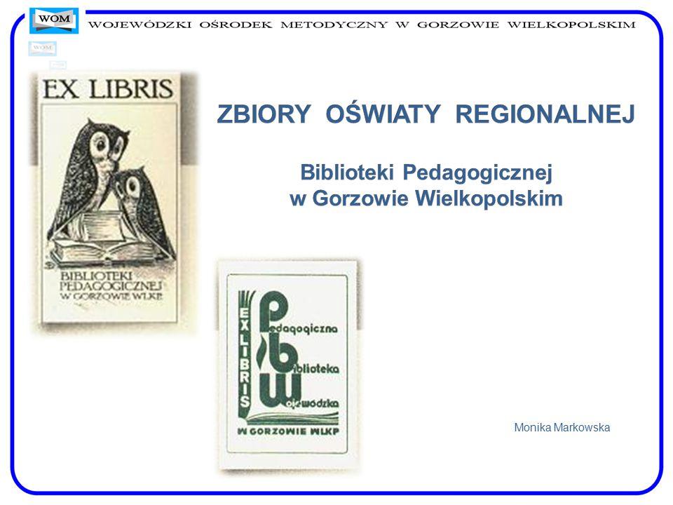 Zbiory dokumentują historię i teraźniejszość oświaty regionu gorzowskiego.