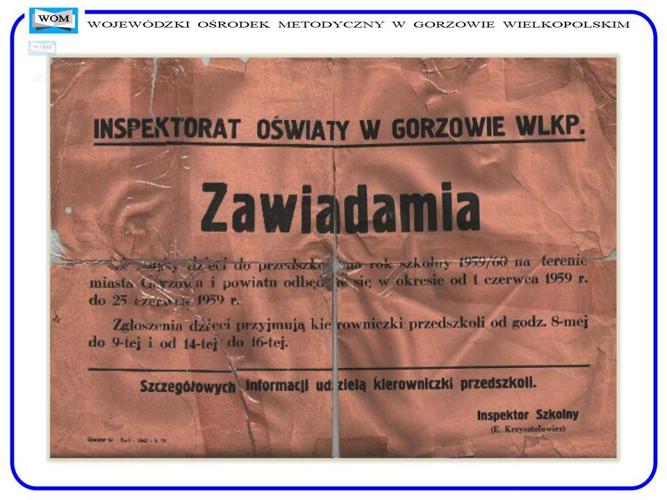 Dokumenty dotyczące funkcjonowania Uniwersytetu Powszechnego w r. szk. 1957/58