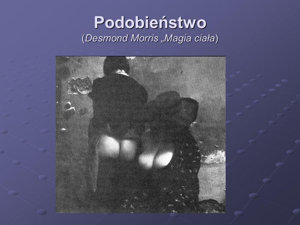 "Podobieństwo (Desmond Morris ""Magia ciała)"