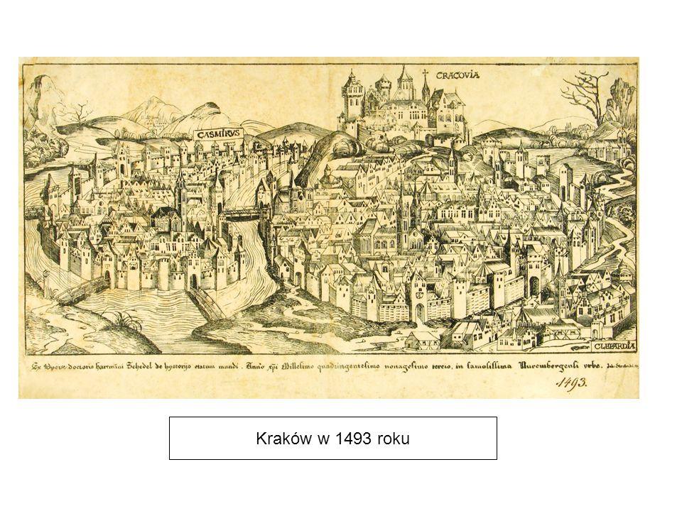Kraków w 1493 roku