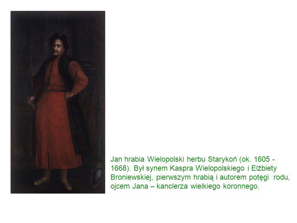 Jan hrabia Wielopolski herbu Starykoń (ok. 1605 - 1668).