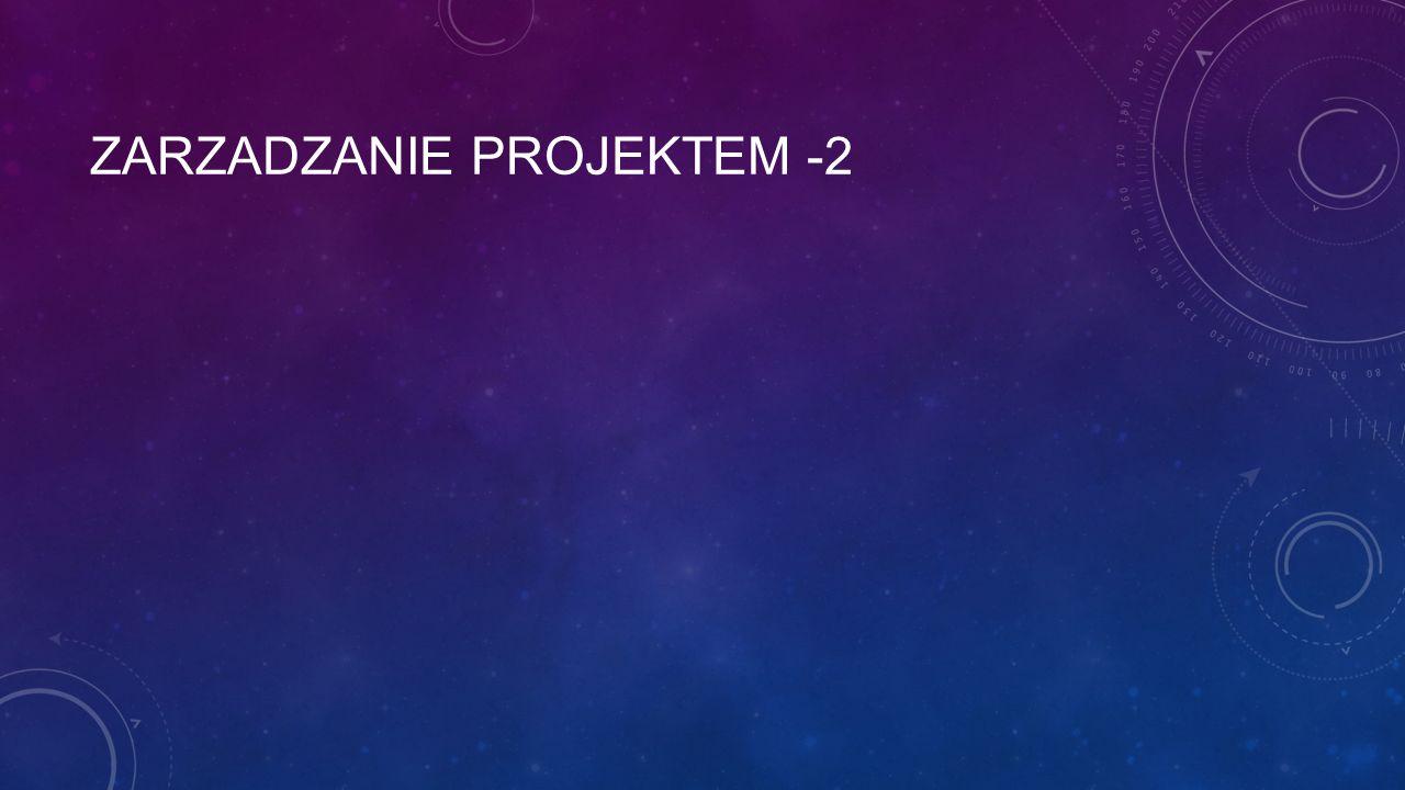 ZARZADZANIE PROJEKTEM -2