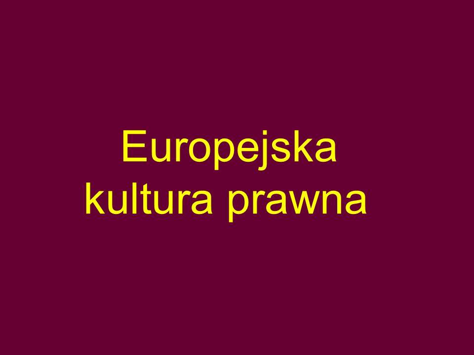Europejska kultura prawna