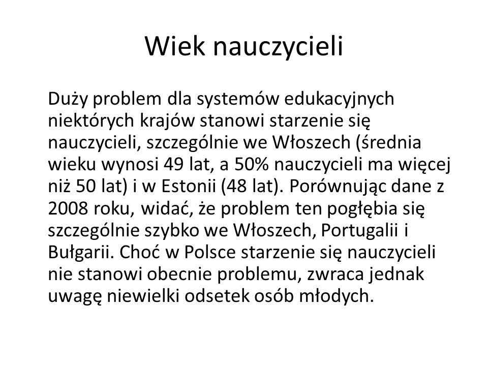 Oceniani rzadziej i tylko przez dyrektora W przeciwieństwie do innych krajów uczestniczących w badaniu w Polsce oceniani są wszyscy nauczyciele.