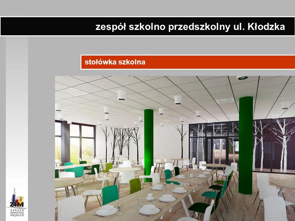stołówka szkolna zespół szkolno przedszkolny ul. Kłodzka