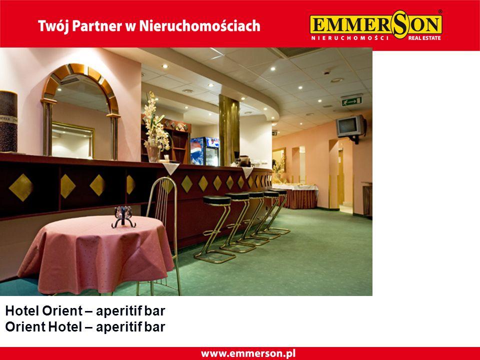 Hotel Orient – aperitif bar Orient Hotel – aperitif bar