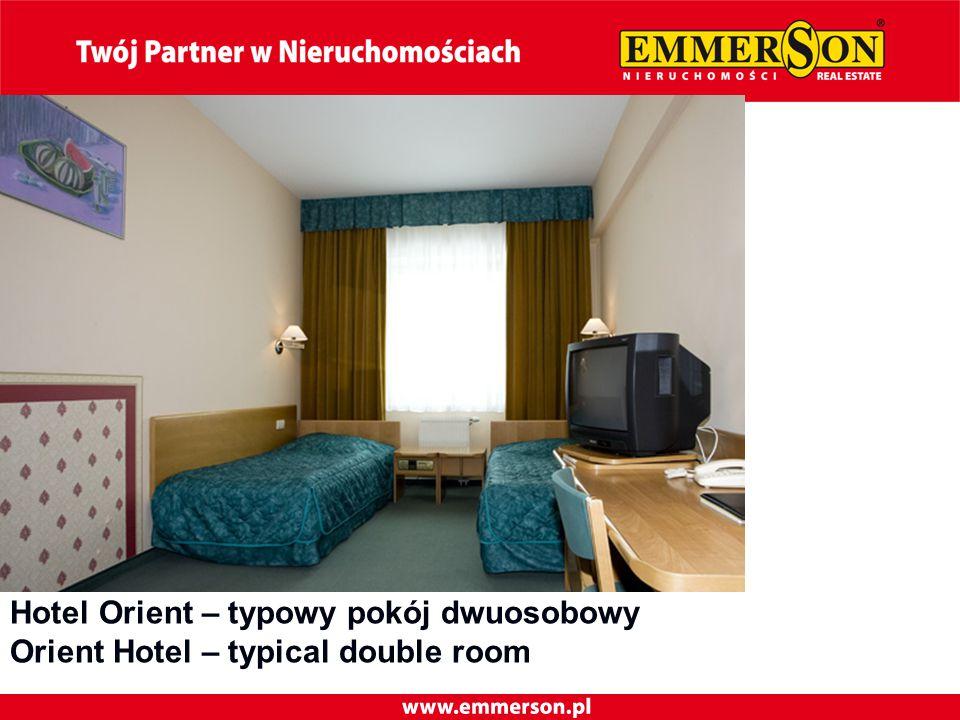 Hotel Orient – typowy pokój dwuosobowy Orient Hotel – typical double room