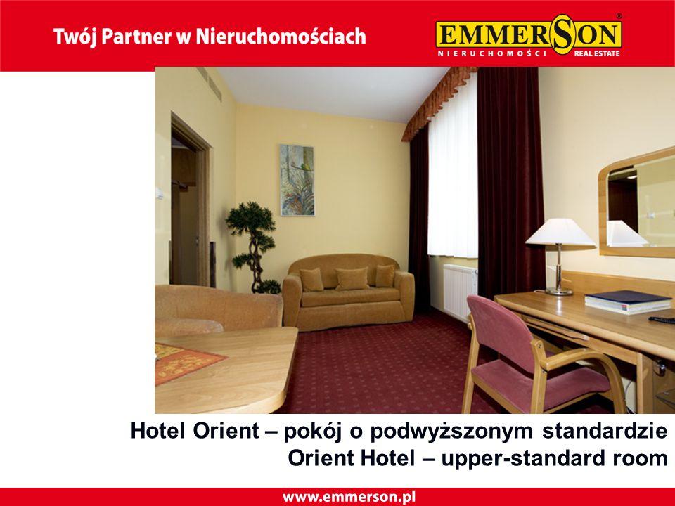 Hotel Orient – pokój o podwyższonym standardzie Orient Hotel – upper-standard room