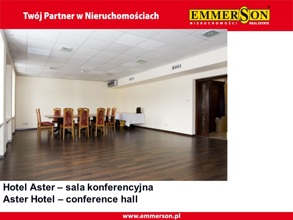 Hotel Aster – sala konferencyjna Aster Hotel – conference hall