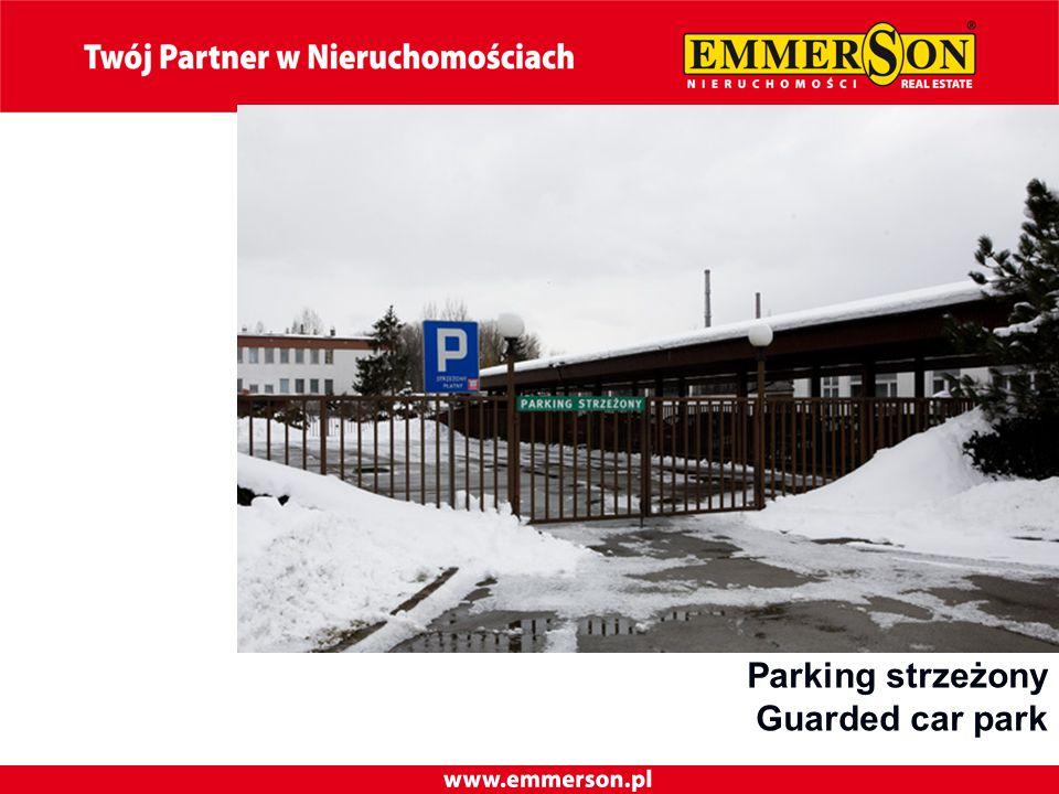 Parking strzeżony Guarded car park