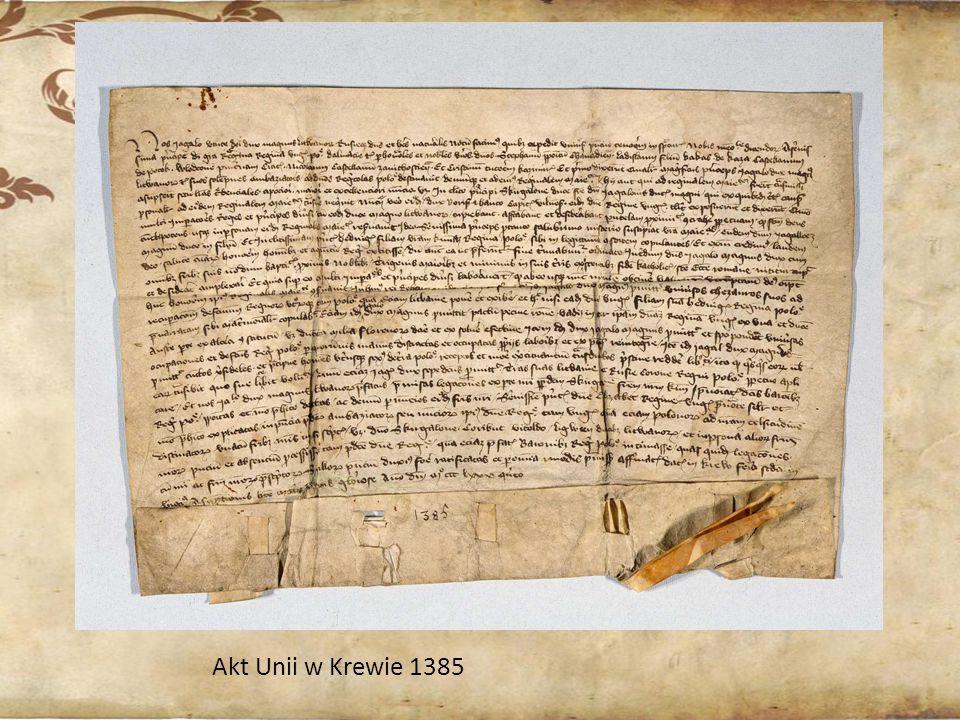 Akt Unii w Krewie 1385