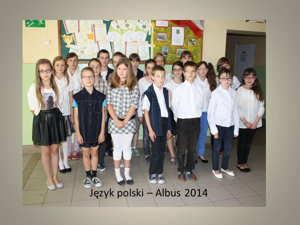 """Ogólnopolski Konkurs Języka Polskiego """"Albus 2014 laureaci: Kaja Trojanowicz kl."""