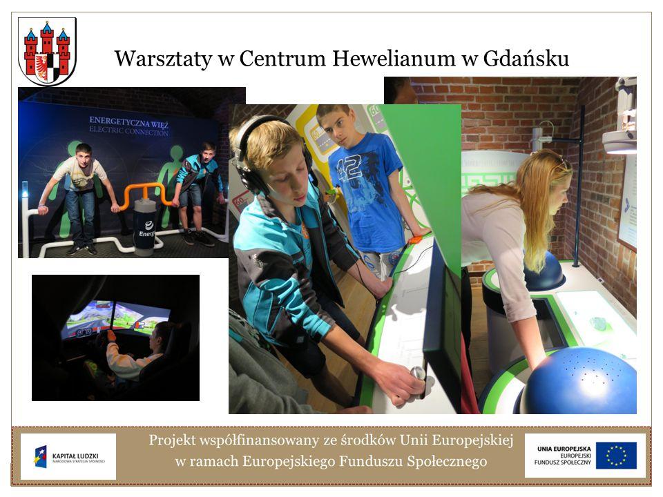 Warsztaty w Centrum Hewelianum w Gdańsku