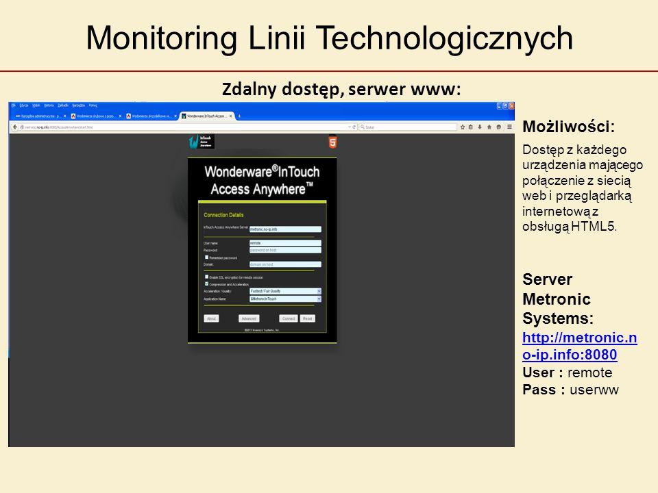 Monitoring Linii Technologicznych Możliwości: Analiza danych w postaci tabelarycznej, wykresów słupkowych, kołowych, itp..