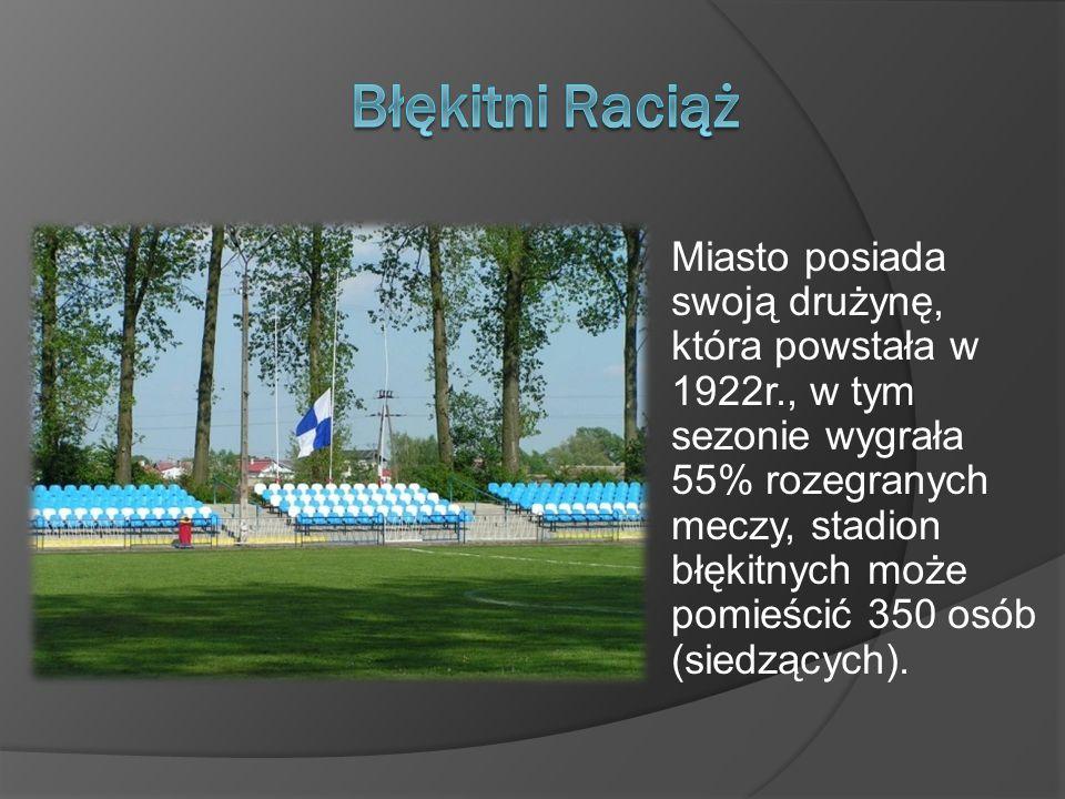 Miasto posiada swoją drużynę, która powstała w 1922r., w tym sezonie wygrała 55% rozegranych meczy, stadion błękitnych może pomieścić 350 osób (siedzą