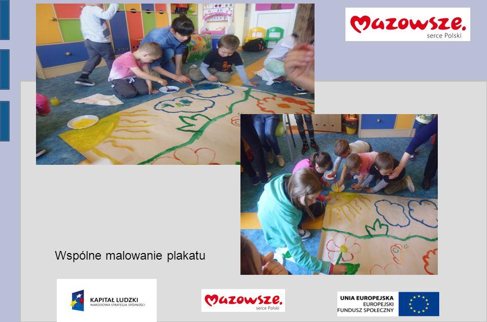 Program Operacyjny Kapitał Ludzki 2007-2013 Wspólne malowanie plakatu