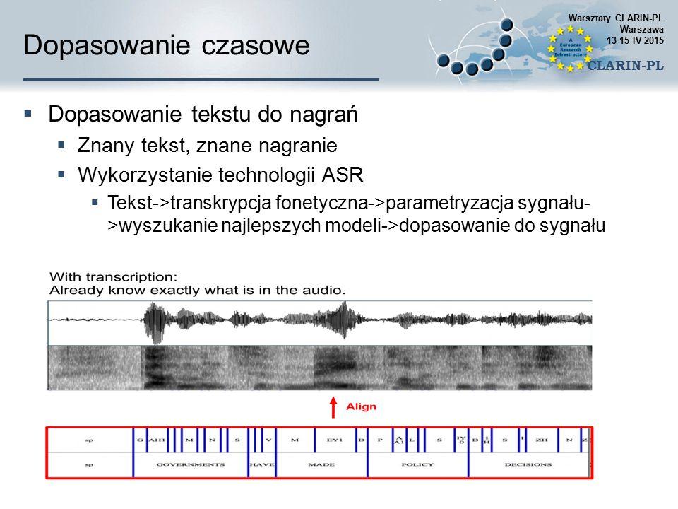 Mowa a inne dźwięki  Parametryzacja sygnału mowy  Klasyfikatory statystyczne  Uczenie maszynowe  Podejście hierarchiczne  Detekcja mowy  Rozpozn