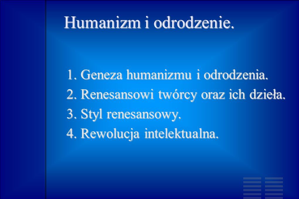Humanizm.