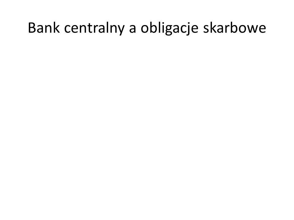 Bank centralny a obligacje skarbowe