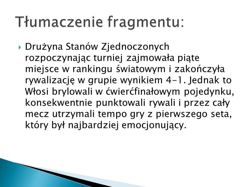 """ """"Magazyn Siatkówka  """"Super Volley  """"Przegląd Sportowy  Siatka.org  Relacje sportowe telewizyjne/radiowe … które, jak już zaczniemy je rozumieć po polsku, trochę pomogą"""