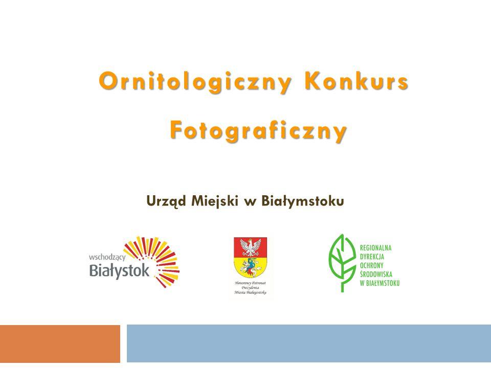 Ornitologiczny Konkurs Fotograficzny Urząd Miejski w Białymstoku