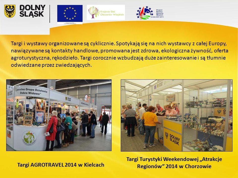"""Targi AGROTRAVEL 2014 w Kielcach Targi Turystyki Weekendowej """"Atrakcje Regionów 2014 w Chorzowie Targi i wystawy organizowane są cyklicznie."""