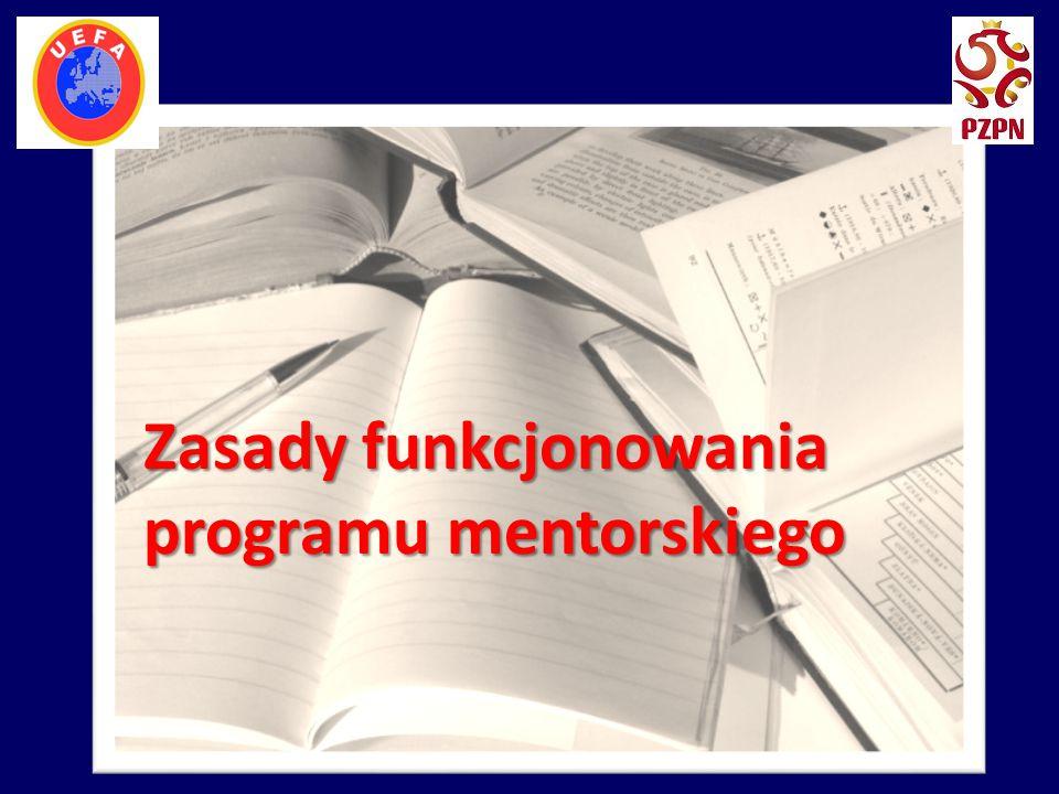 Zasady funkcjonowania programu mentorskiego