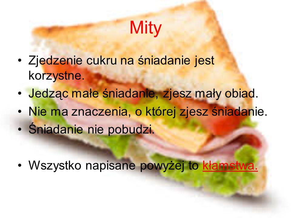 Opowieść Ania rano przygotowała sobie śniadanie: chleb razowy z pomidorem i białym serem.
