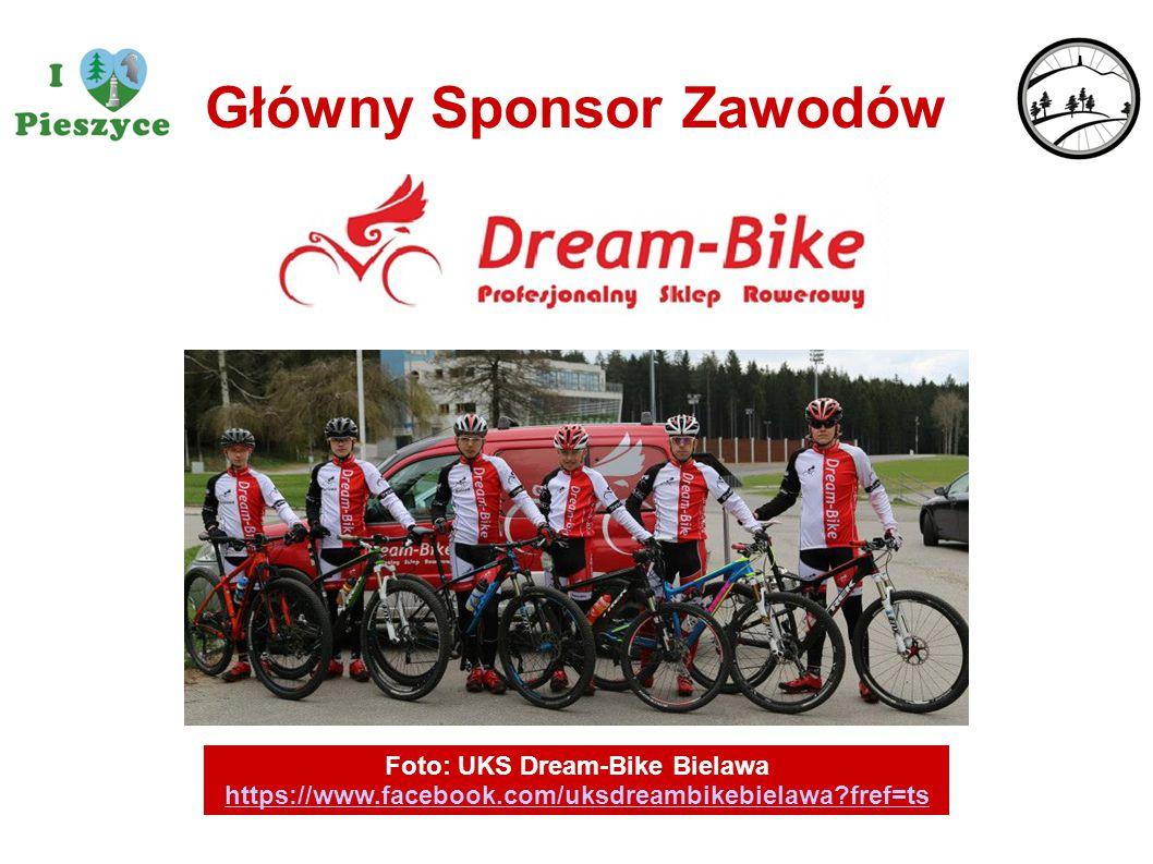 Główny Sponsor Zawodów Foto: UKS Dream-Bike Bielawa https://www.facebook.com/uksdreambikebielawa?fref=ts