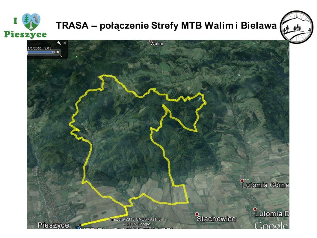 TRASA – połączenie Strefy MTB Walim i Bielawa