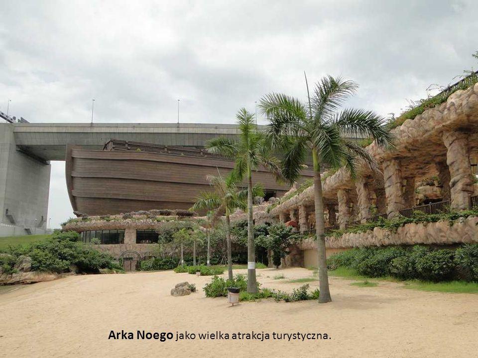Łożko na noc: Goście na pokładzie arki mogą również pozostać na noc w jednym z luksusowych pokoi typu hotelowego.
