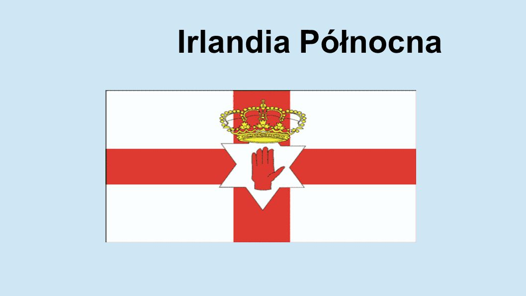 Irlandia Północna jest jedną z części składowych Zjednoczonego Królestwa Wielkiej Brytanii i Irlandii Północnej.