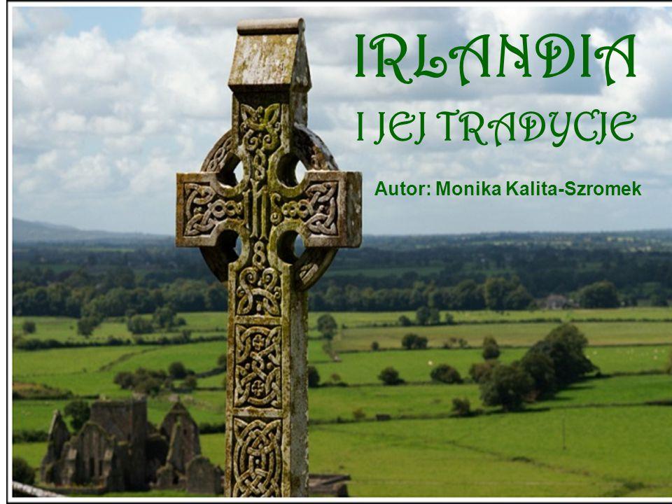 Republika Irlandii EIRE POWIERZCHNIA: 70 282 km 2 STOLICA: Dublin LUDNOŚĆ: 3,6 mln JĘZYK: angielski, irlandzki (Irish Gaelic) WALUTA: EURO (od 2002r.) wcześniej funt irlandzki (punt) PATRON:Św.