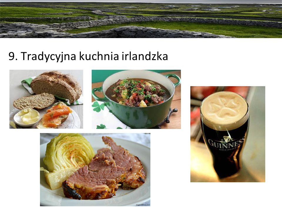 9. Tradycyjna kuchnia irlandzka