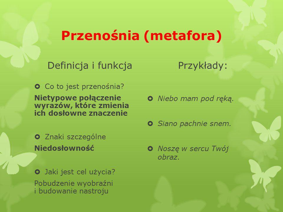 Metafora czysta odmęt zieloności (rozległe miejsce porośnięte gęstą, intensywnie zieloną roślinnością) odmęt (głęboka, wzburzona woda, otchłań, toń) zieloność - zieleń (zielone rośliny, tereny pokryte roślinami)